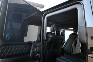 Overlap protection on Mercedes-Benz G63