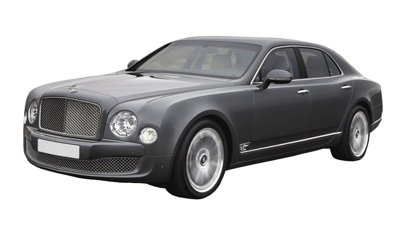 Grey armoured Bentley Mulsanne