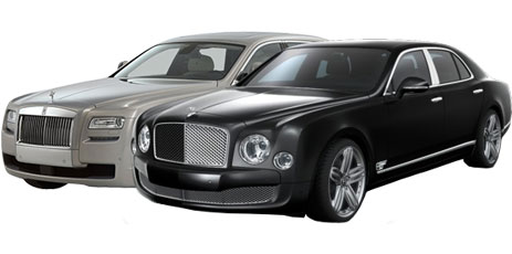 Armoured Rolls Royce Ghost Series 2 and armoured Bentley Mulsanne